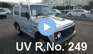 RHD Suzuki Jimny Sold by Unique Vehicles